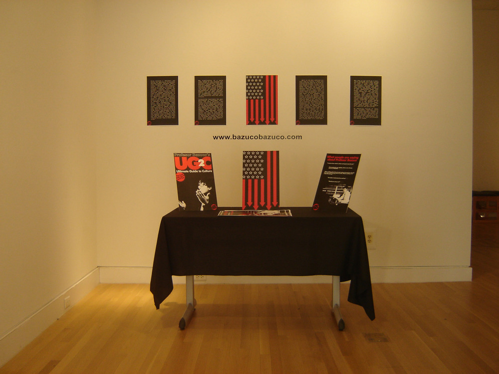 Profesor Bazuco book release @ Rueff Galleries