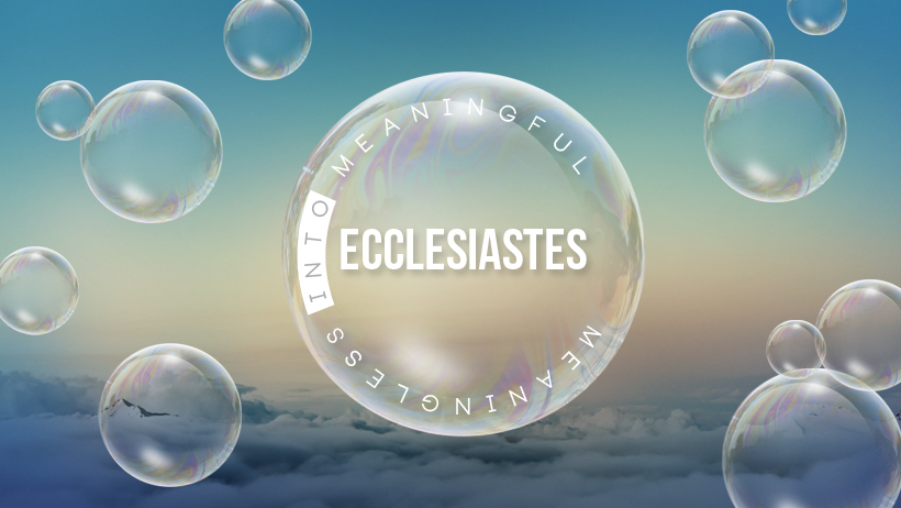 Title:  Ecclesiastes 1:12-2:26 | Searching for Meaning... is Good   Preacher:  Jim Applegate   Date:  January 28, 2018
