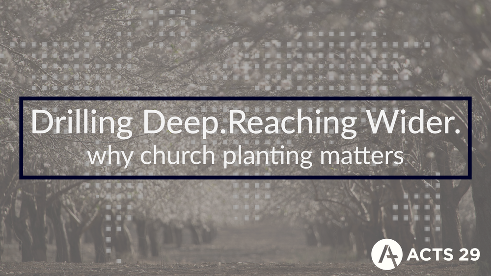 Title:  Why Church Planting Matters   Preacher:  Danny Conner   Date:  January 6, 2018