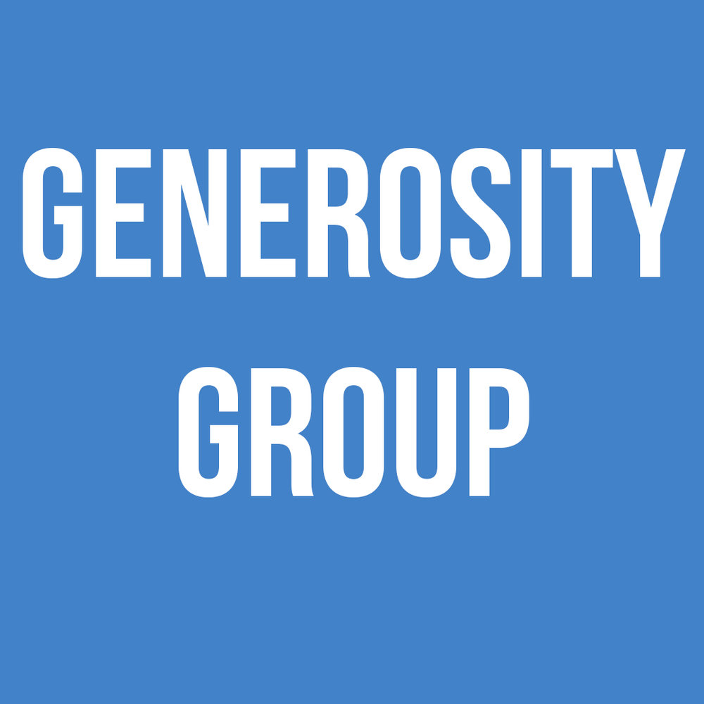 - The Generosity Group manages the church budget, helps with giving events, and provides leadership.The Budget Team helps manage the church budgetThe Events Team plans fundraising initiatives at Redeemer.For more information on how you can get involved email info@theredeemerchurch.com