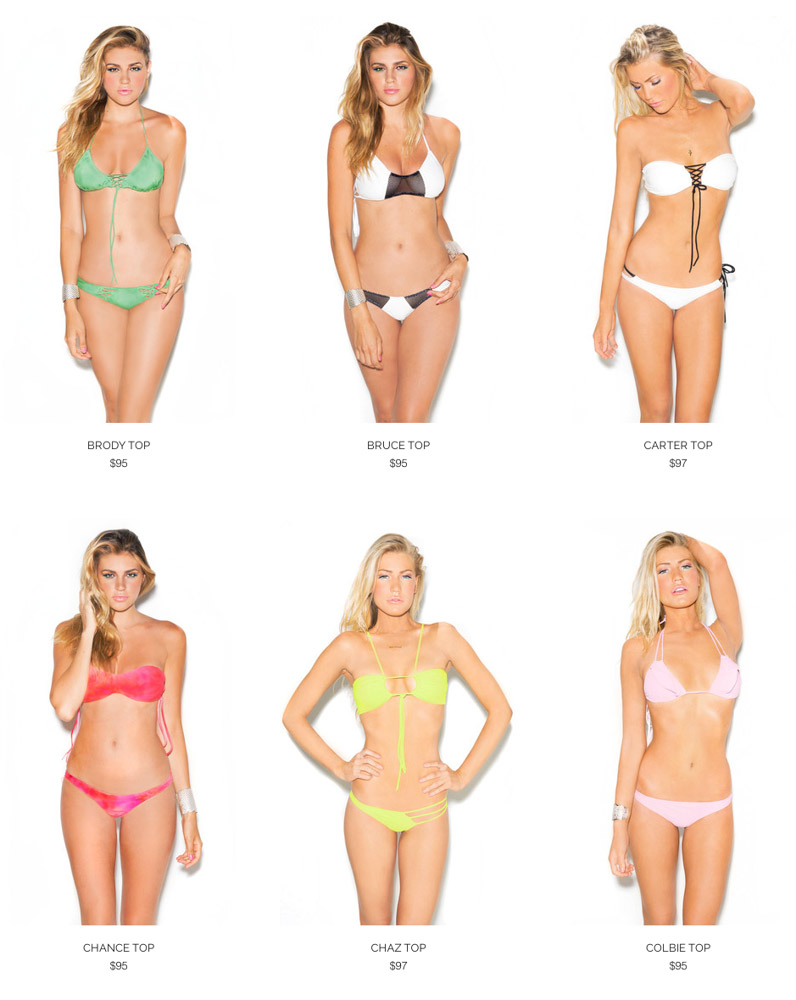 Tyler Rose Swimwear Catalog 2014