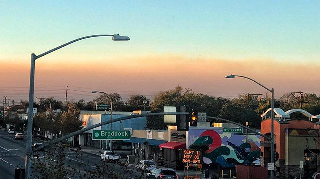 Wildfire Smoke + Smog = FLEM CITY.