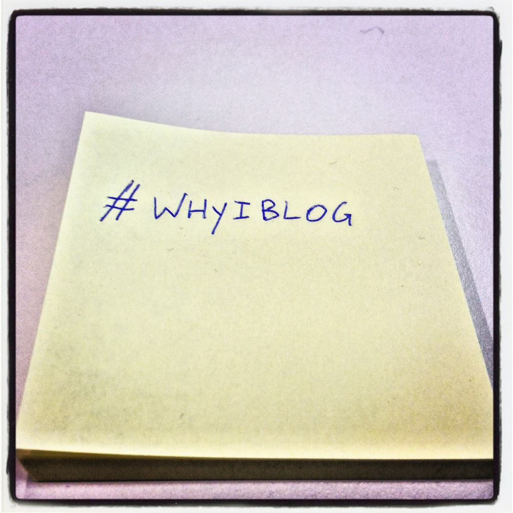 WhyIBlog