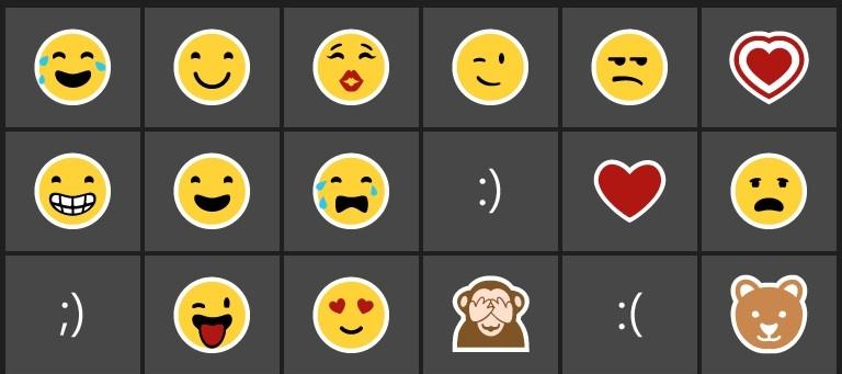 Le mie emoji più utilizzate