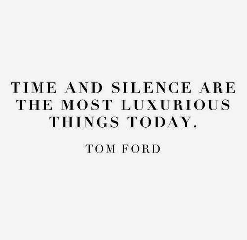 Tempo e silenzio