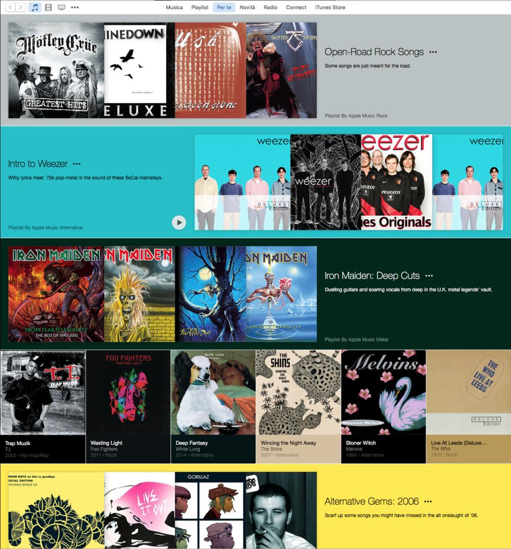 """La pagina """"Per Te"""" di Apple Music si aggiorna ad ogni accesso"""