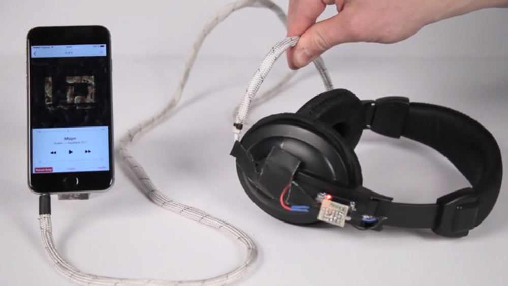 Cord UI Pinchable headphone cable