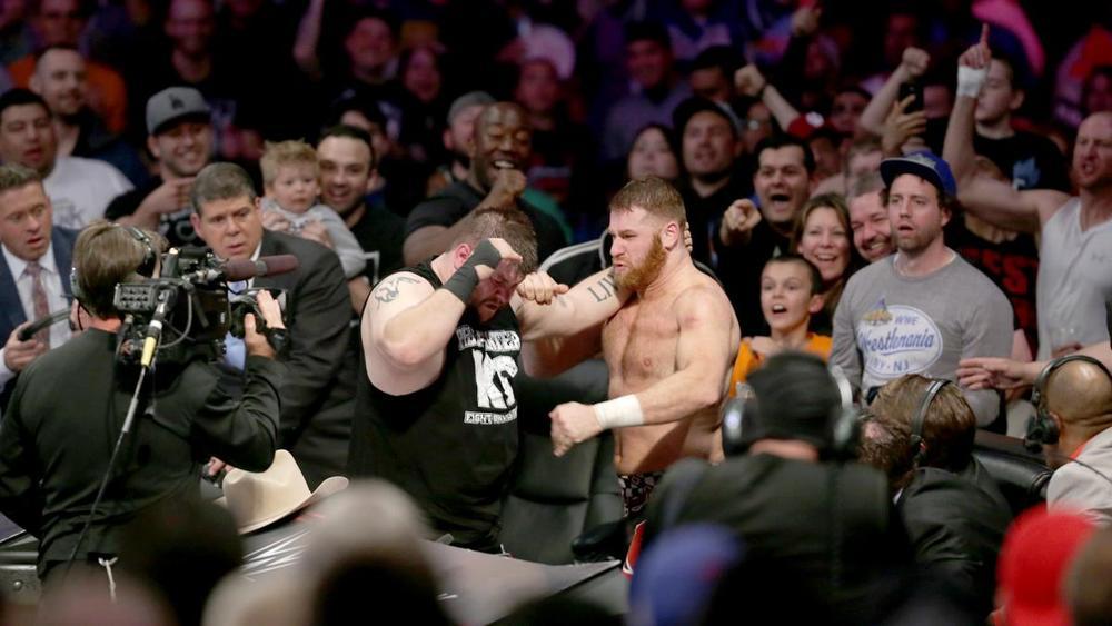 Sami Zayn Kevin Owens WWE Payback 2016