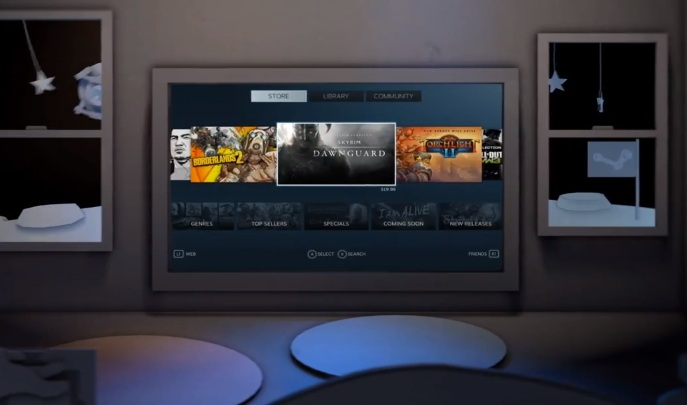 Valve Brings Steam To The Living Room With Big Picture