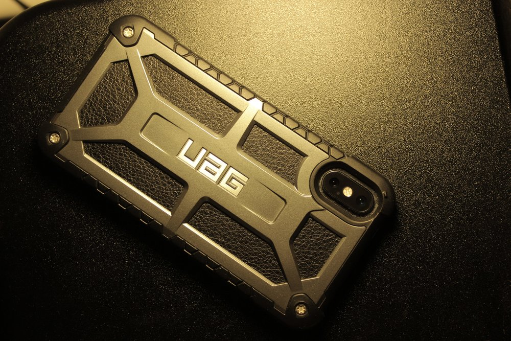 Urban Armor Gear Monarch phone case.JPG