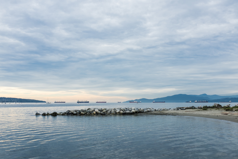English Bay, October 3, 2014