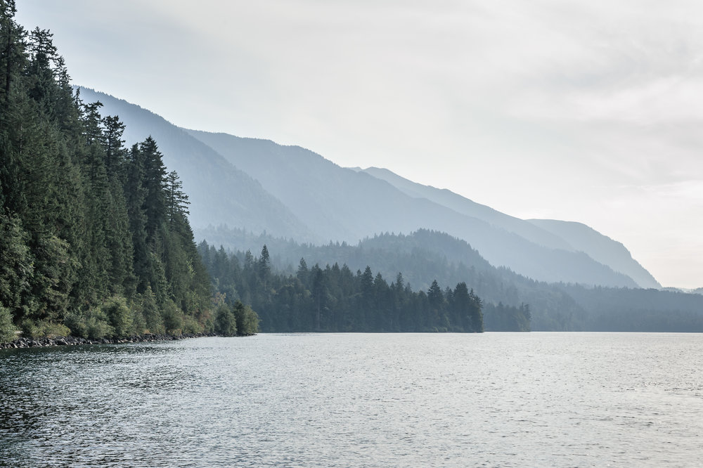 Jade Bay, Cultus Lake Provincial Park, 16 September 2017