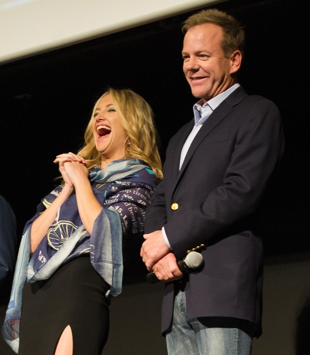 Kate Hudson and Kiefer Sutherland