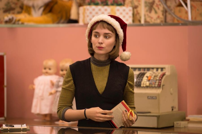 Since it's Christmas, I'm going with Rooney Mara in a Santa hat.