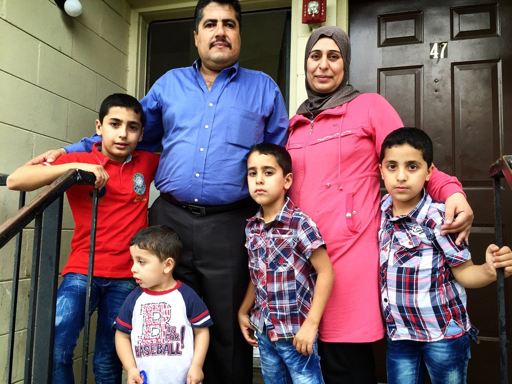 This is the Ahmed family.  For their protection, I'm not using their real names or location.