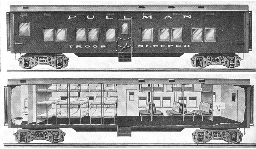 Pullman Troop Sleeper