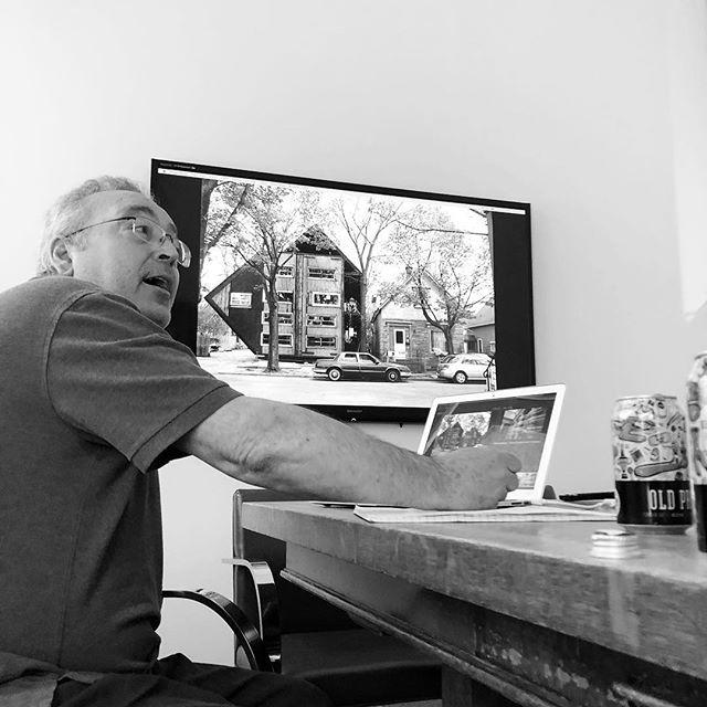 Frank Fantauzzi at Ziger/Snead F|4 #cranbrook #buffalo #baltimore #mica