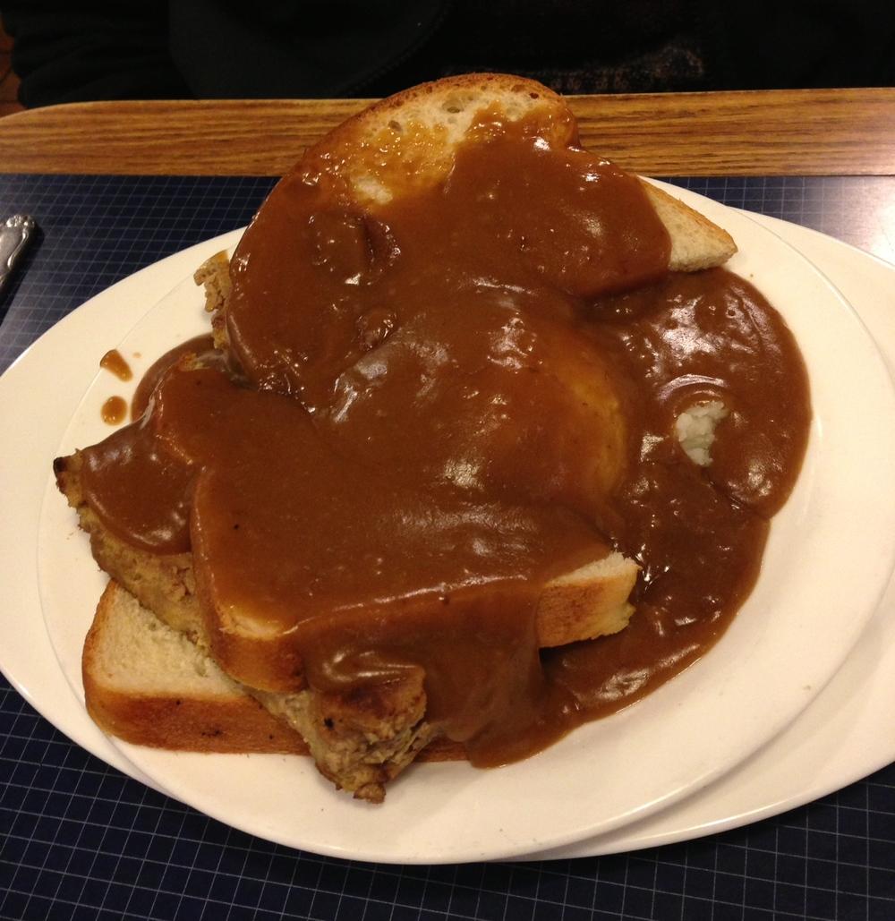 Meatloaf Dinner (Walker's)