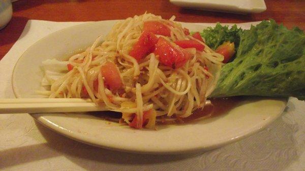 SL7. Som Tum (papaya salad)