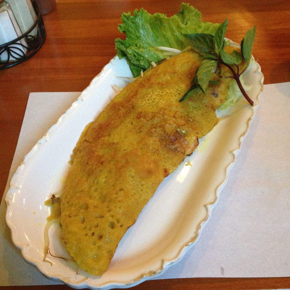 Banh Xeo - Vietnamese Crepe (available only on Saturday & Sunday)