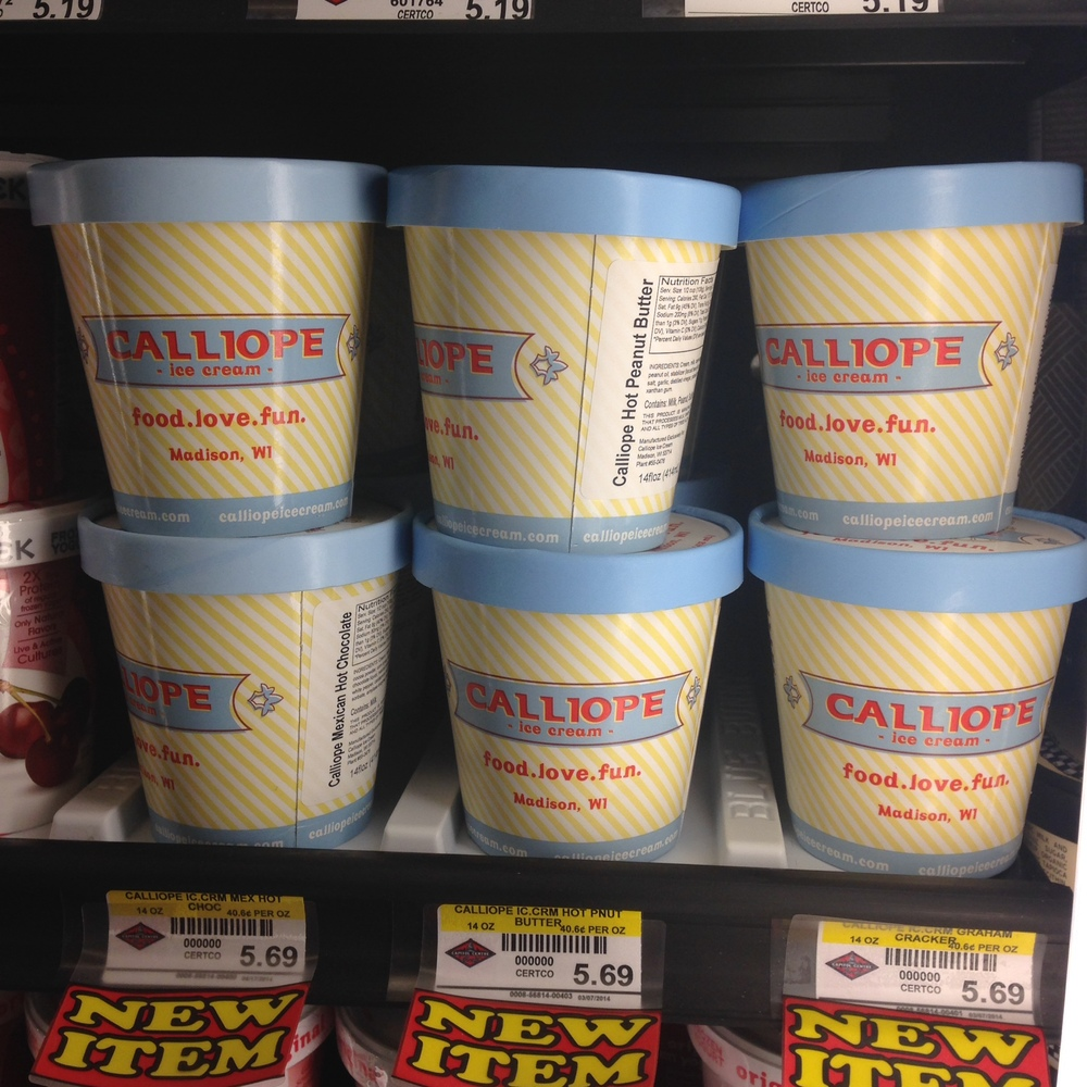 Calliope Ice Cream available at Capitol Centre Market