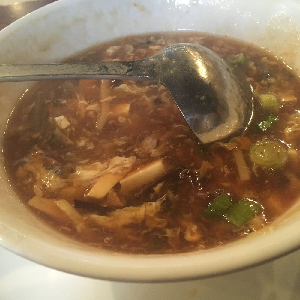Hot and Sour Soup -
