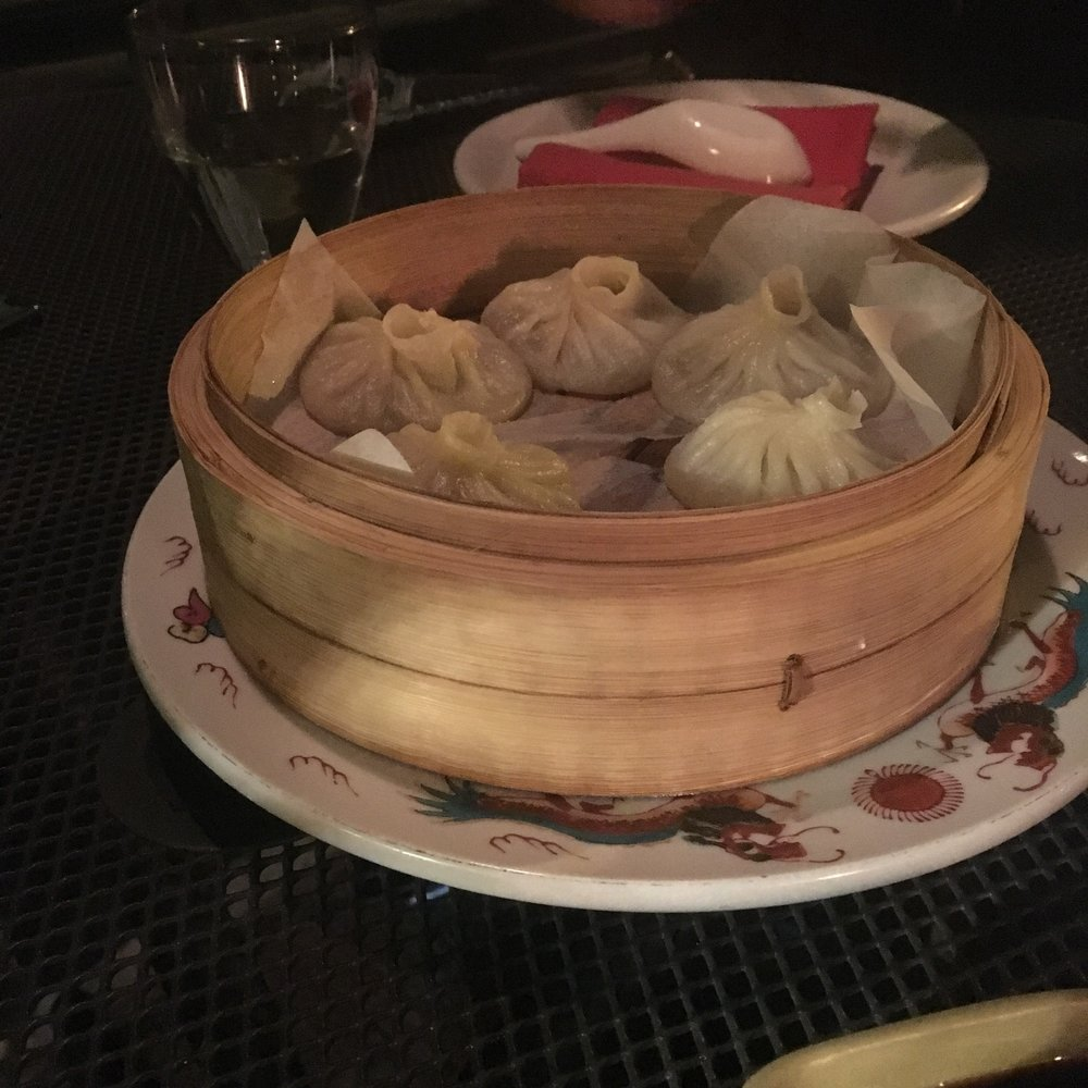 Xiao Long Bao - pork and crab soup dumplings