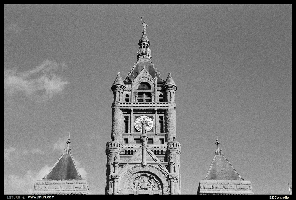 Ilford HP5 - SLC County Building