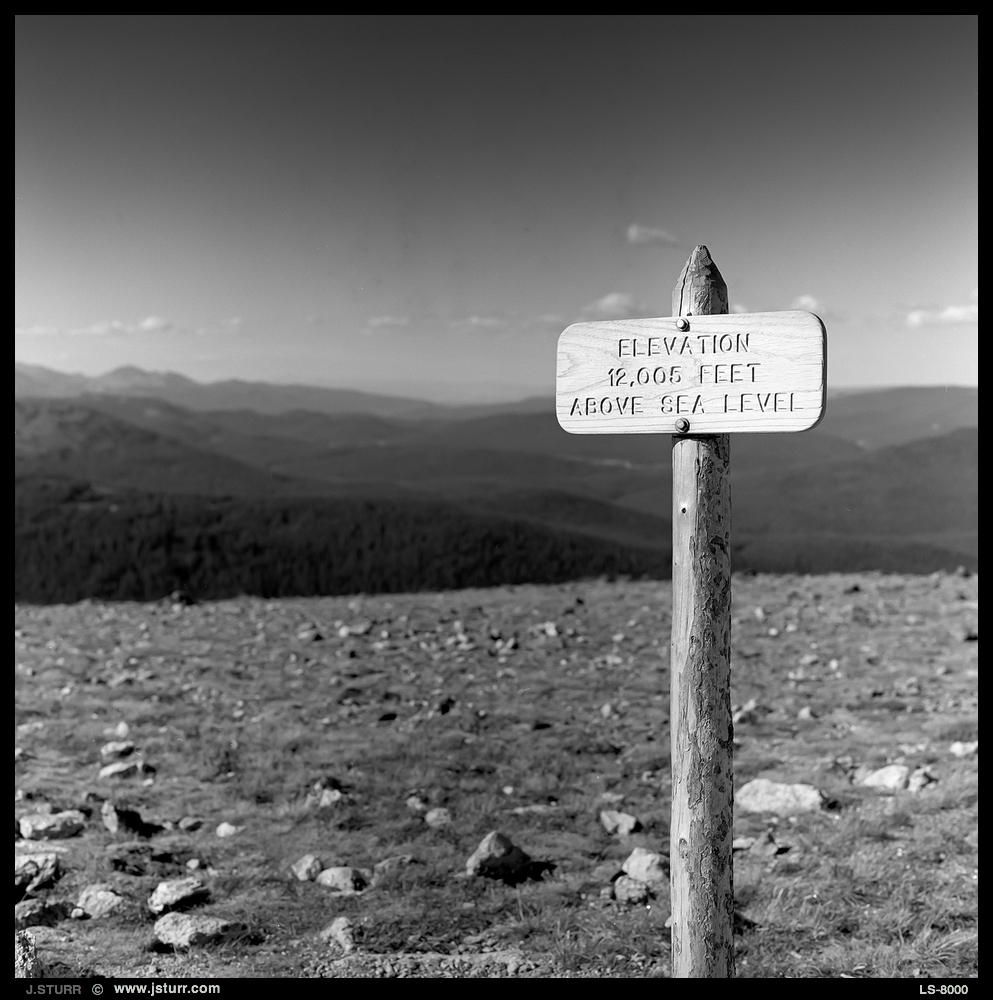 Rocky Mtn National Park - Acros 100