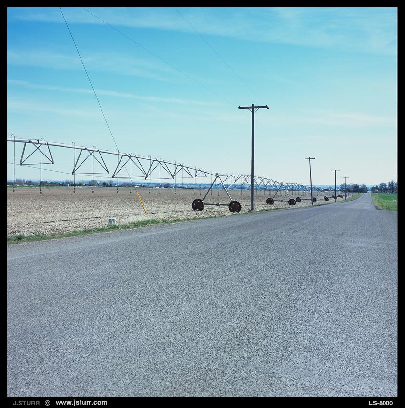 Twin Falls Idaho - Fuji RVP100 - Rollei 6008i