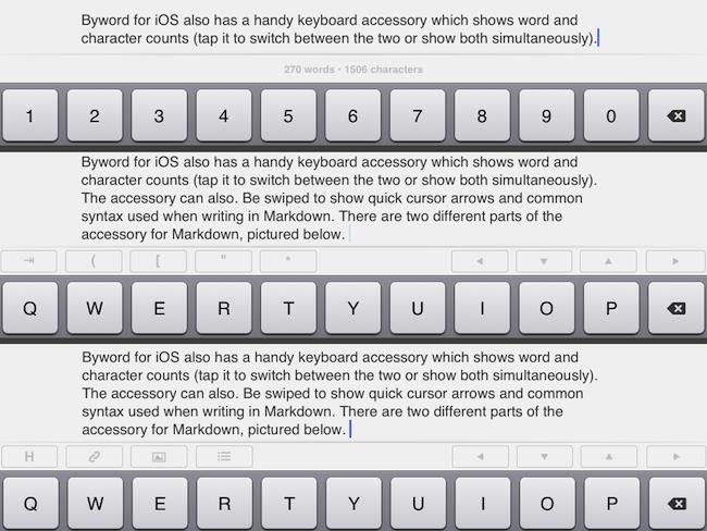 Byword Keyboard Accessory