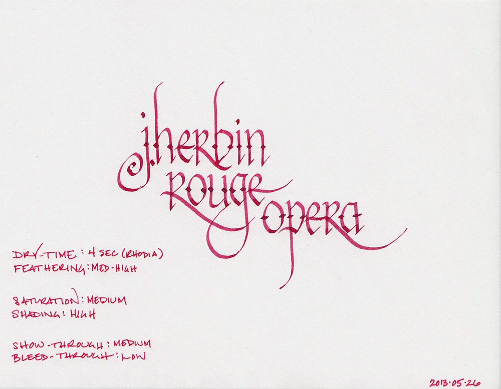 J. Herbin Rouge Opera