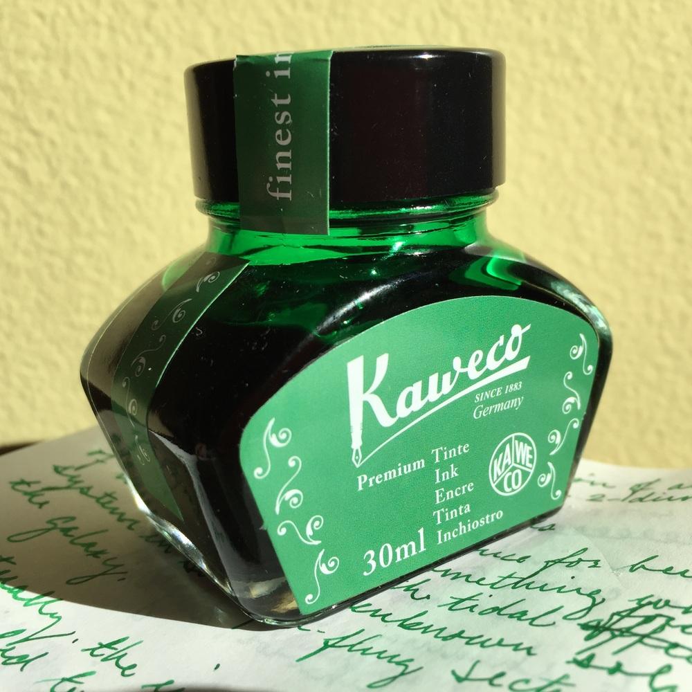 Kaweco Palm Green bottle
