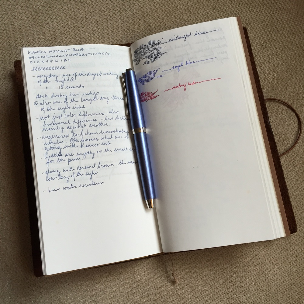 A closer look at the 013 Light Paper notebook.