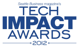 Tech Impact Awards 2012.  Seattle Business Magazine.    Corporate event.  John Curry Photography.  johncurryphotgraphy.net
