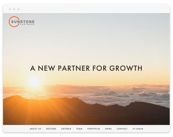 Sunstone Partners  (Private Equity Firm)
