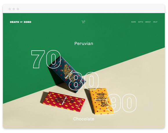 Cacao Squarespace Template