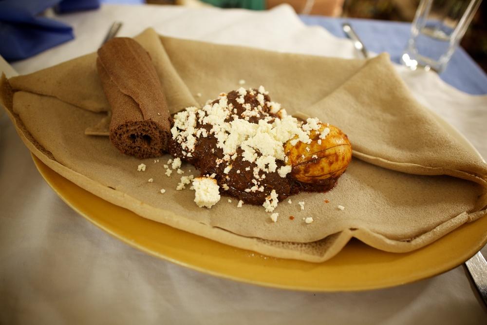 Door wot, Ethiopian cuisine, Sep 2012