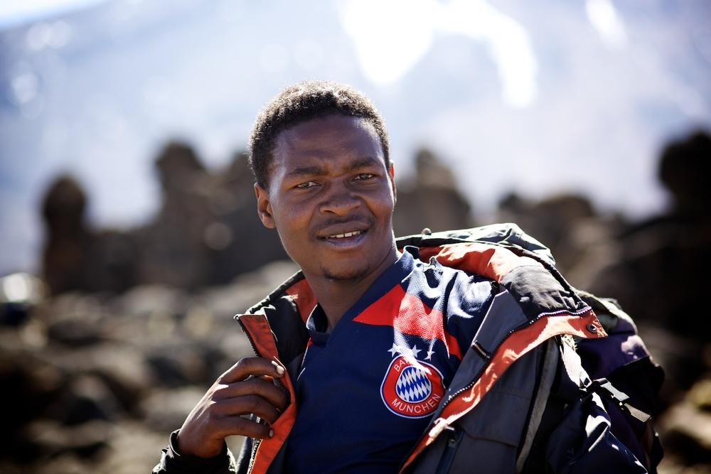 Assistant Guide, Kilimanjaro (TZ), Sep 2012