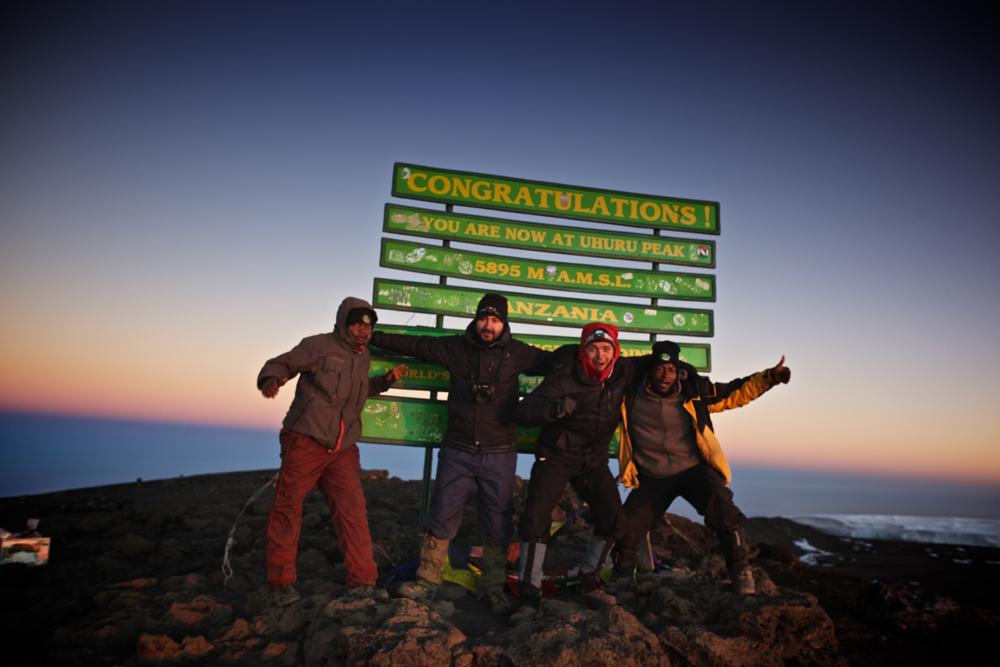 Uhuru Peak 5985masl, Mt. Kilimanjaro (TZ)