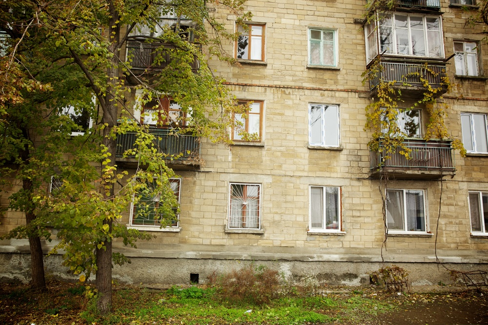 Tiraspol Apartment Block, Transnistria