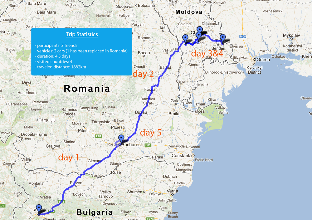 Eastern European Road Map