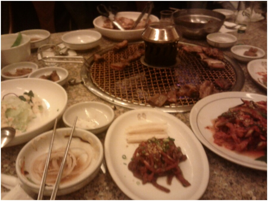 Korean style BBQ, Suwon