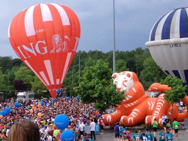 "Start Line, img source: ""ING Luxembourg Nigh Marathon"""