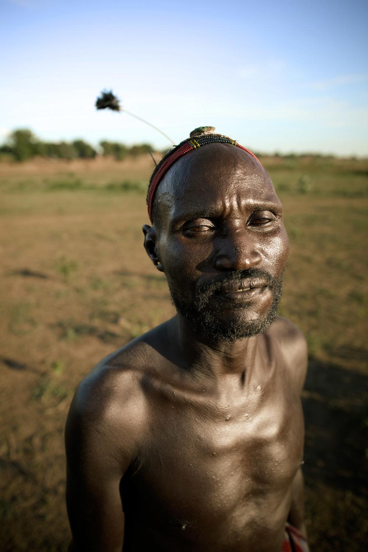 Dessanach tribe's chief