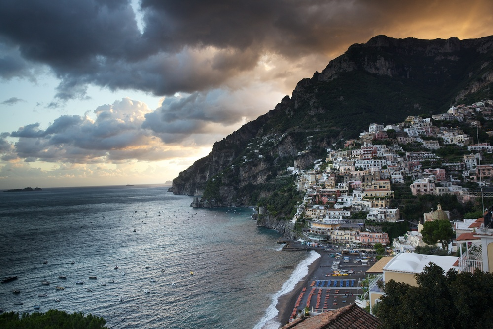 Positano before Sunset