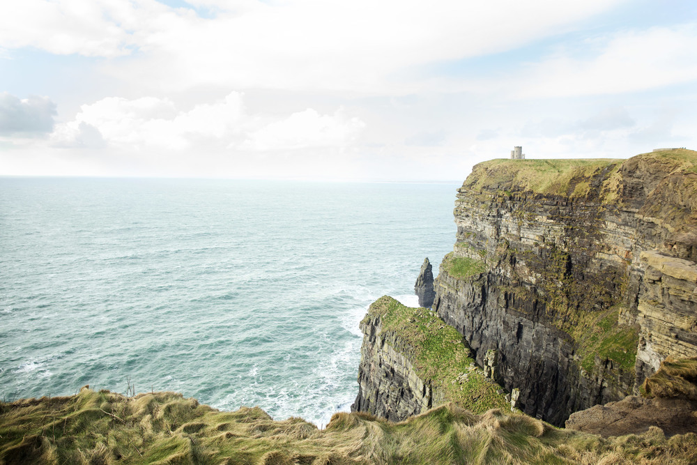 O'Brien's tower at Cliffs of Moher, Ireland
