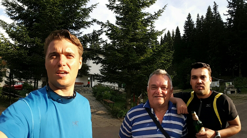 Me, dad and Mitko
