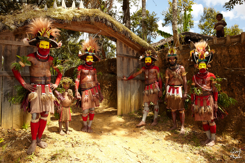 huli wigmen, tribe, Papua New Guinea, Australia, 2015, Aug, Jungle,