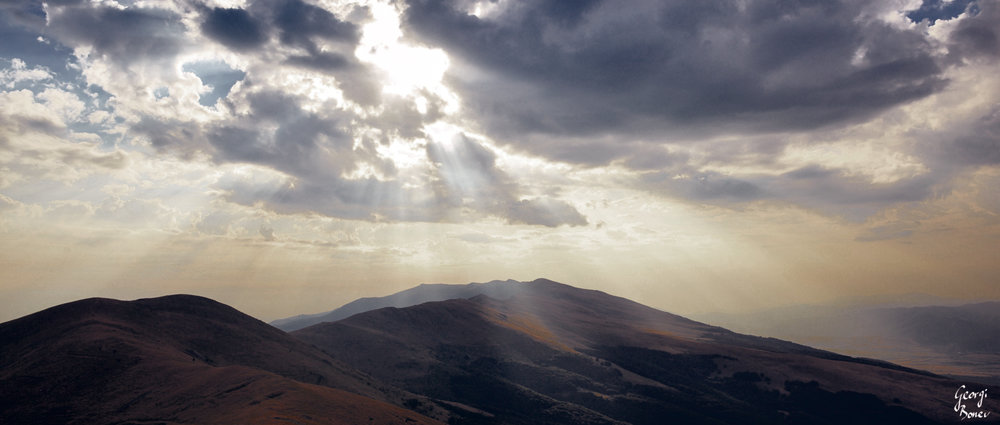 Mt. Stara Planina before the storm, Bulgaria